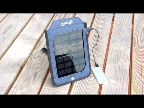 Solcellsladdare för mobil & Ipad