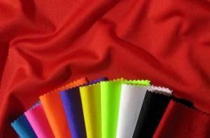 Textilier i elastan av olika färg