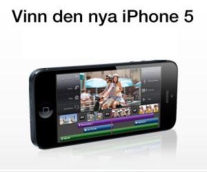 Ny möjlighet att vinna Apples heta Iphone 5